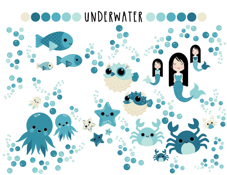 Underwater Character Concepts