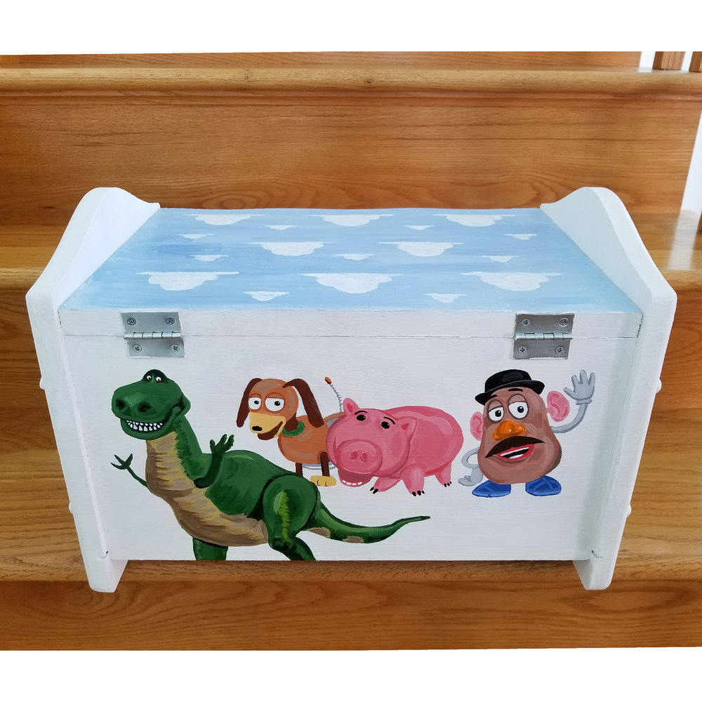 Toy Box (Back/Top)