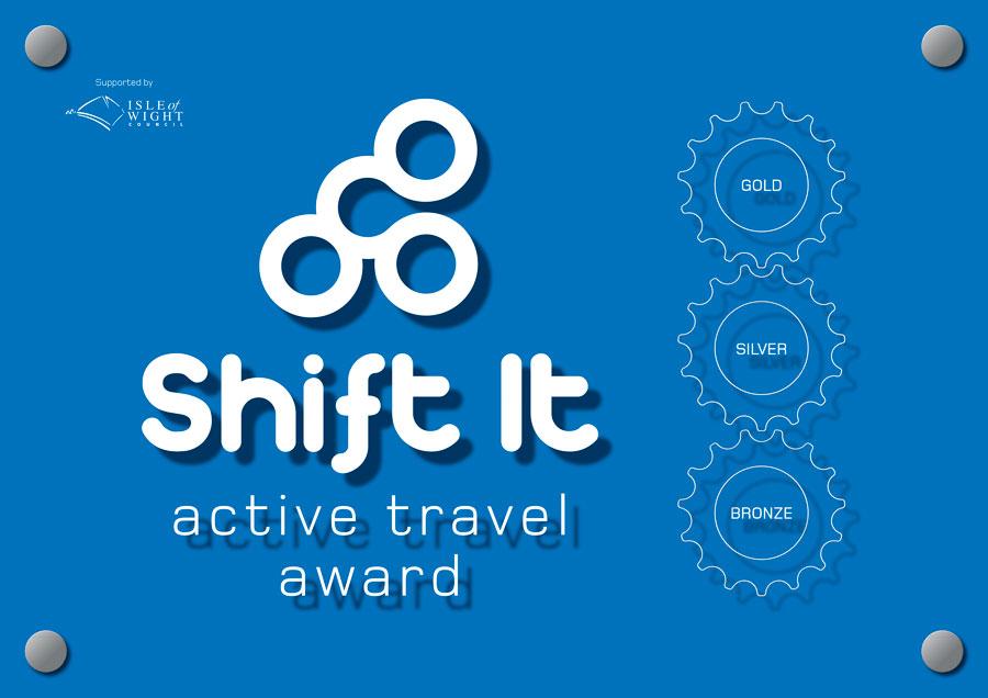 shift it travel award plaque