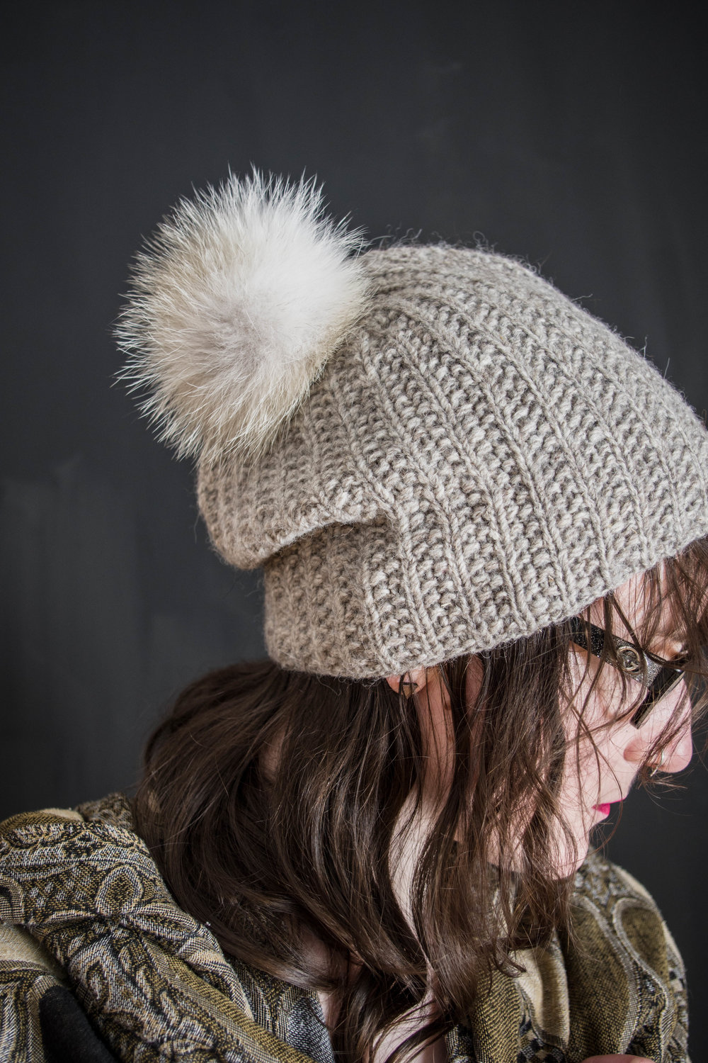 how to contribute  - the scholarship fund is topped up through the purchase of the crush hat pattern, which danielle was going to model for me before she passed. 50% of the proceeds of this pattern moving forward will go to the scholarship fund to support the expansion of danielle's curious spirit in a wider population. danielle was going back to school to officially become a teacher after teaching in other capacities, and she would have been incredible. here's to the encouragement of lifelong learning for all of us.