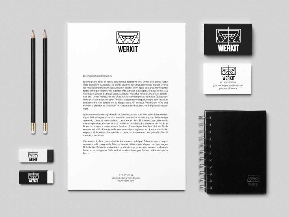 Werkit_boombox linework_Black & White Branding Mock-Up.png