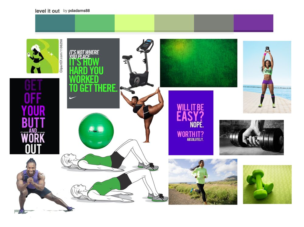 Green and Purple theme