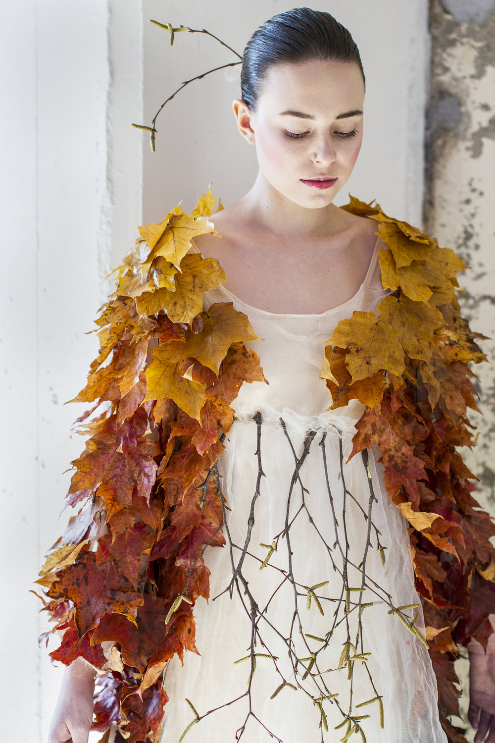 Winner Eco Fashion Challenge <br>Abby Schraufnagel