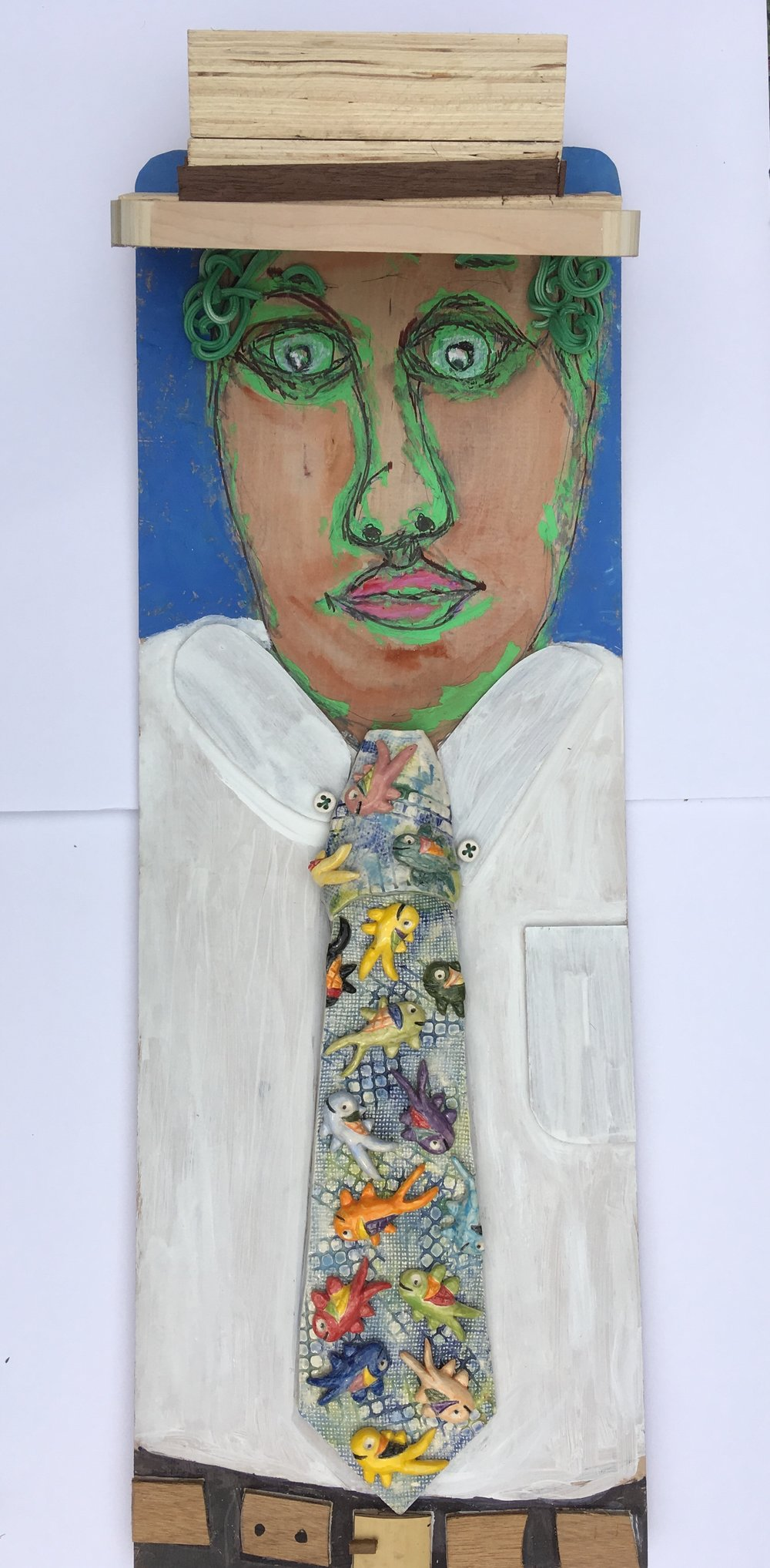 Kasse Andrews-Weller and Micheal Green_Man With Fish Tie.jpg