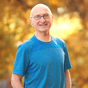 Hank Halstead, team supporter for Acupuncture 4 Health