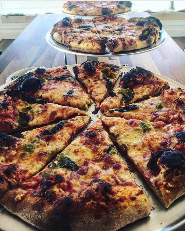 The best day of the week is PIZZA DAY 🍕 at @grano_breads! Join them tonight starting at 5:30 for whole pies or by the slice! #granobakery #pizzaparty #downtownoregoncity #oregoncity #shopsmall #buylocaloc #piebytheslice