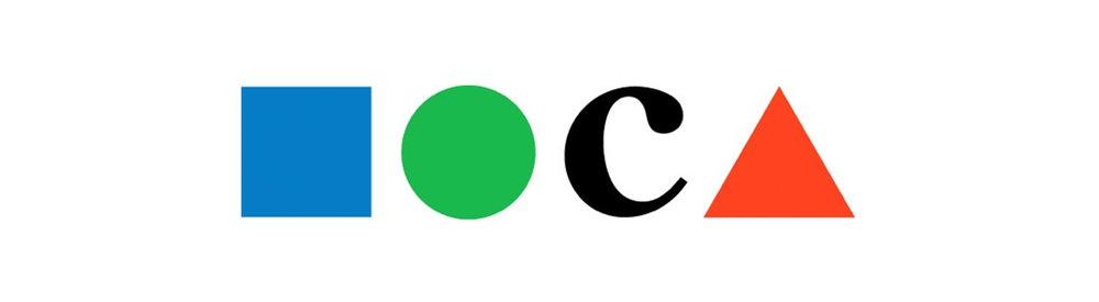 Similarity logo example: MOCA (Museum of Contemporary Art), by Ivan Chermayeff and Tom Geismar, 1979.