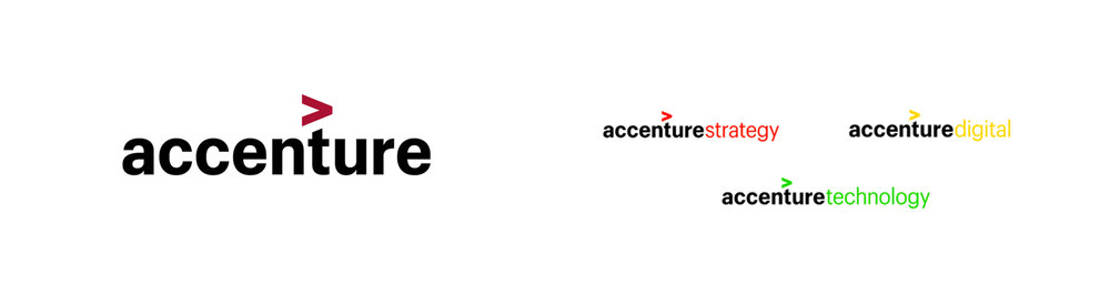 Accenture logo and Accenture Brand Childs.