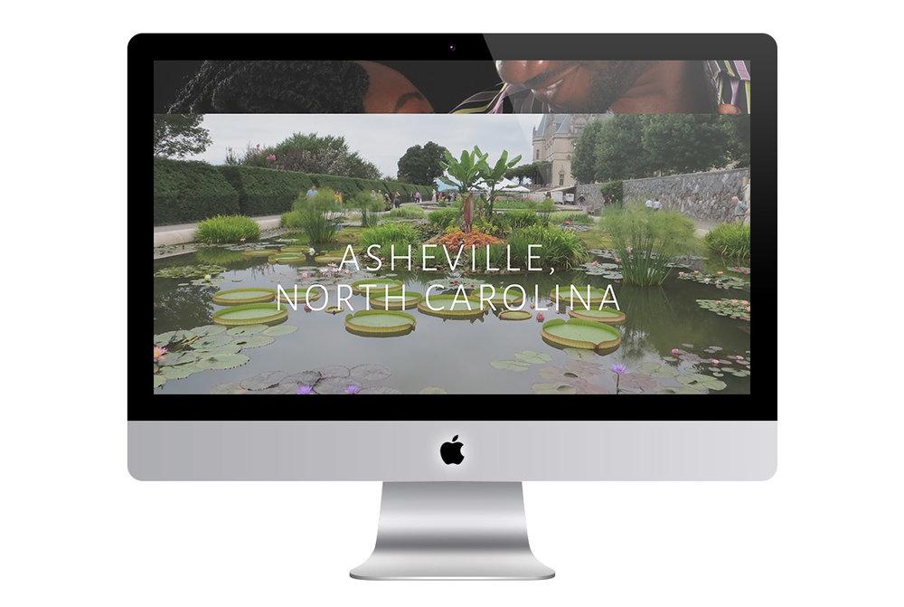 Custom Modern Squarespace Wedding Website Design Showing Event Location