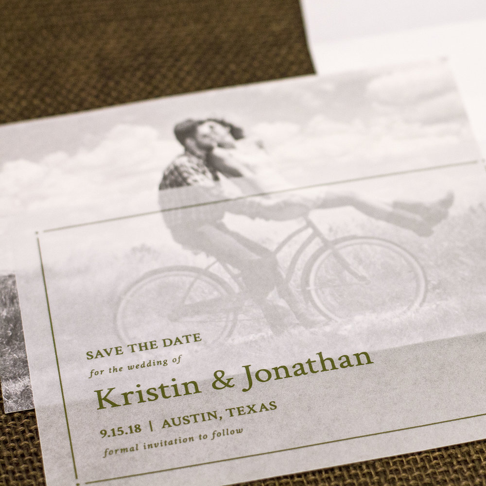 Invitations and Save the Dates That Joy Custom Wedding