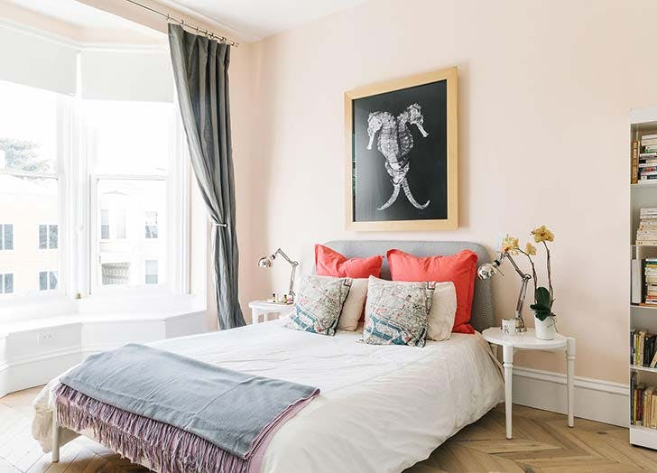 LIBRA: Blush pink - (September 23 – October 21)Warmth and balance are your trademark traits, Libs—so naturally you'll feel most at home in a colorway that suggests both. Look to soft, blushy pinksas a refreshing neutral that, like you, is oh-so-charming.