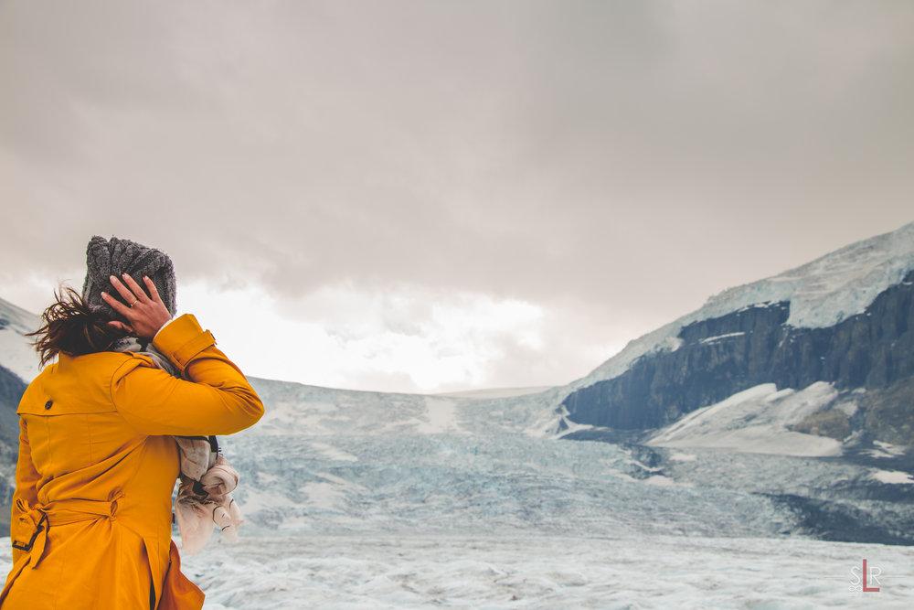 Athabasca Glacier. Photo by  SLRInfinity