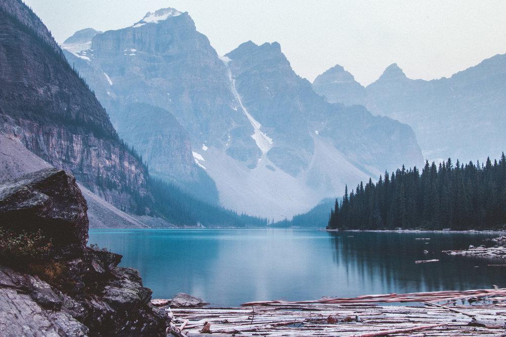 Lake Moraine. Photo by  SLRInfinity.