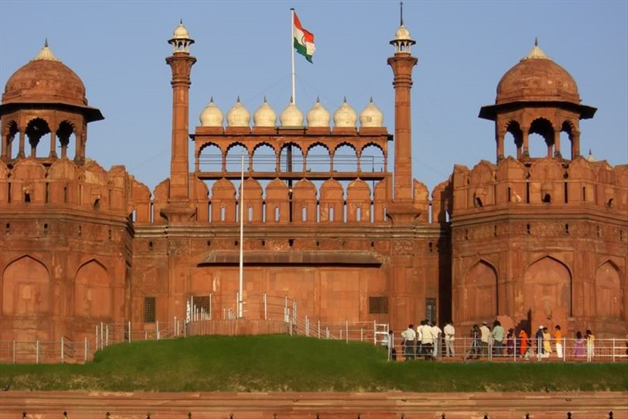 Google Image of the Red Fort in Delhi.