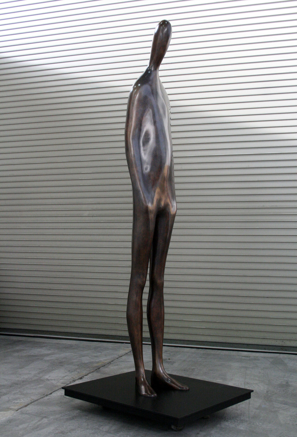 Hector's Return  .  2014 . Bronze . 90.5 x 17 x 12 in