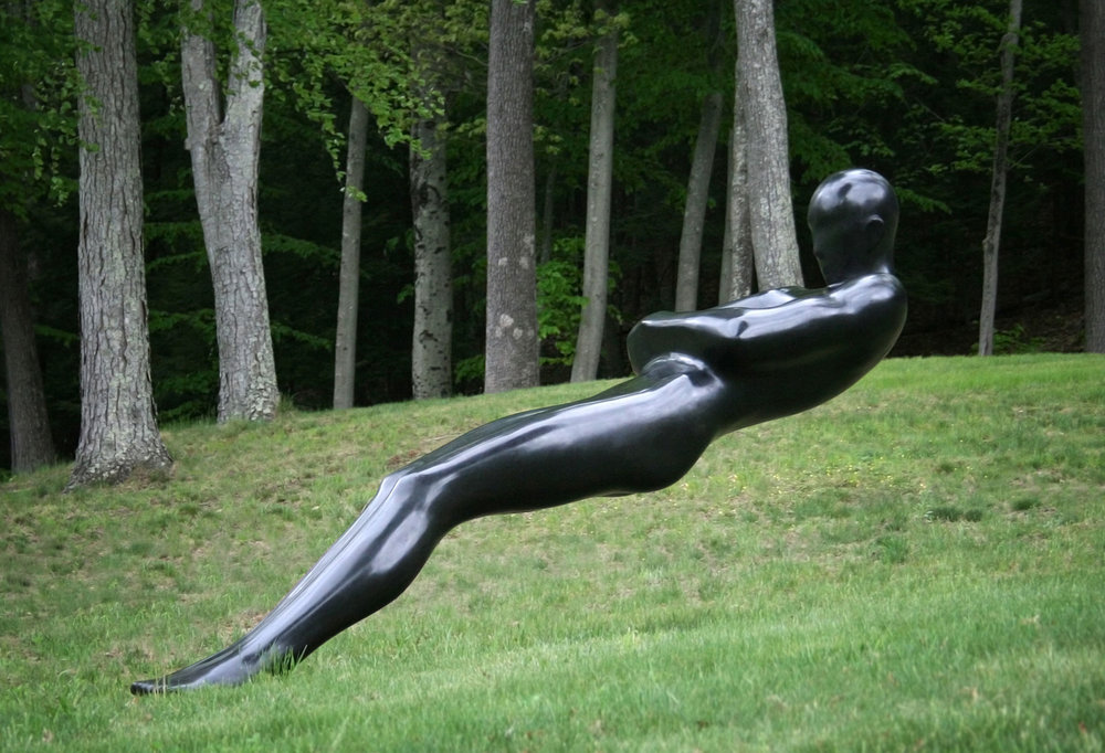 Abedo  .  2014 . Bronze . 144 inches on the hypotenuse