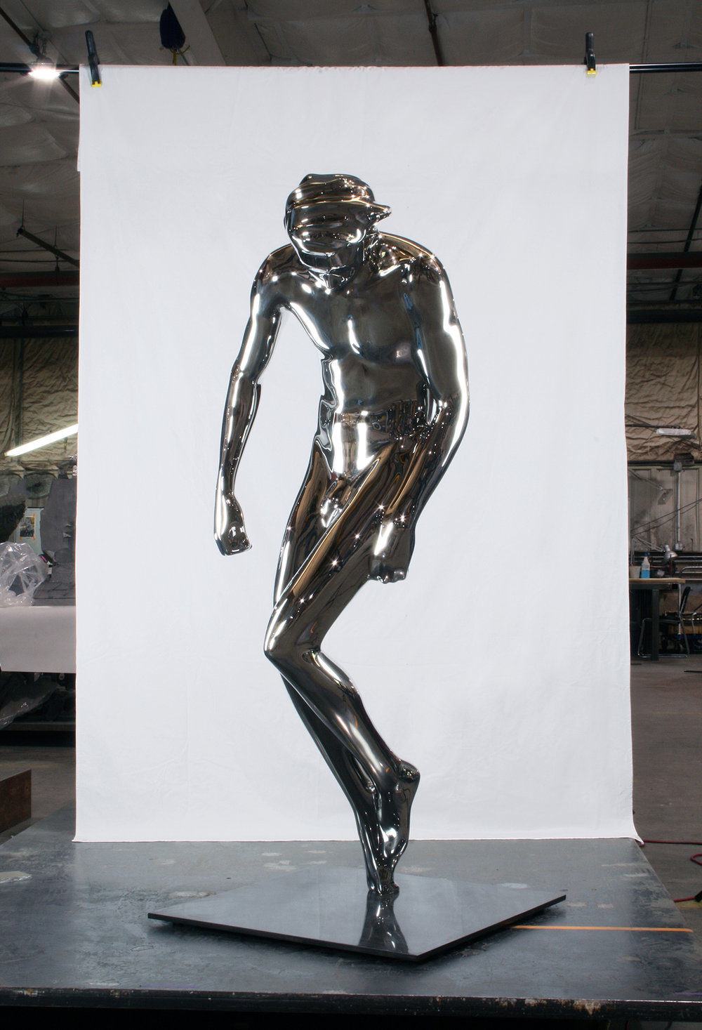 STAR SUIT   2018, Polished Stainless Steel,