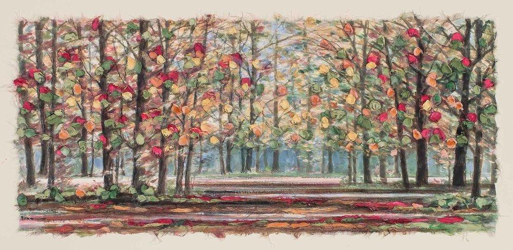 Copy of Autumn Road 12x22