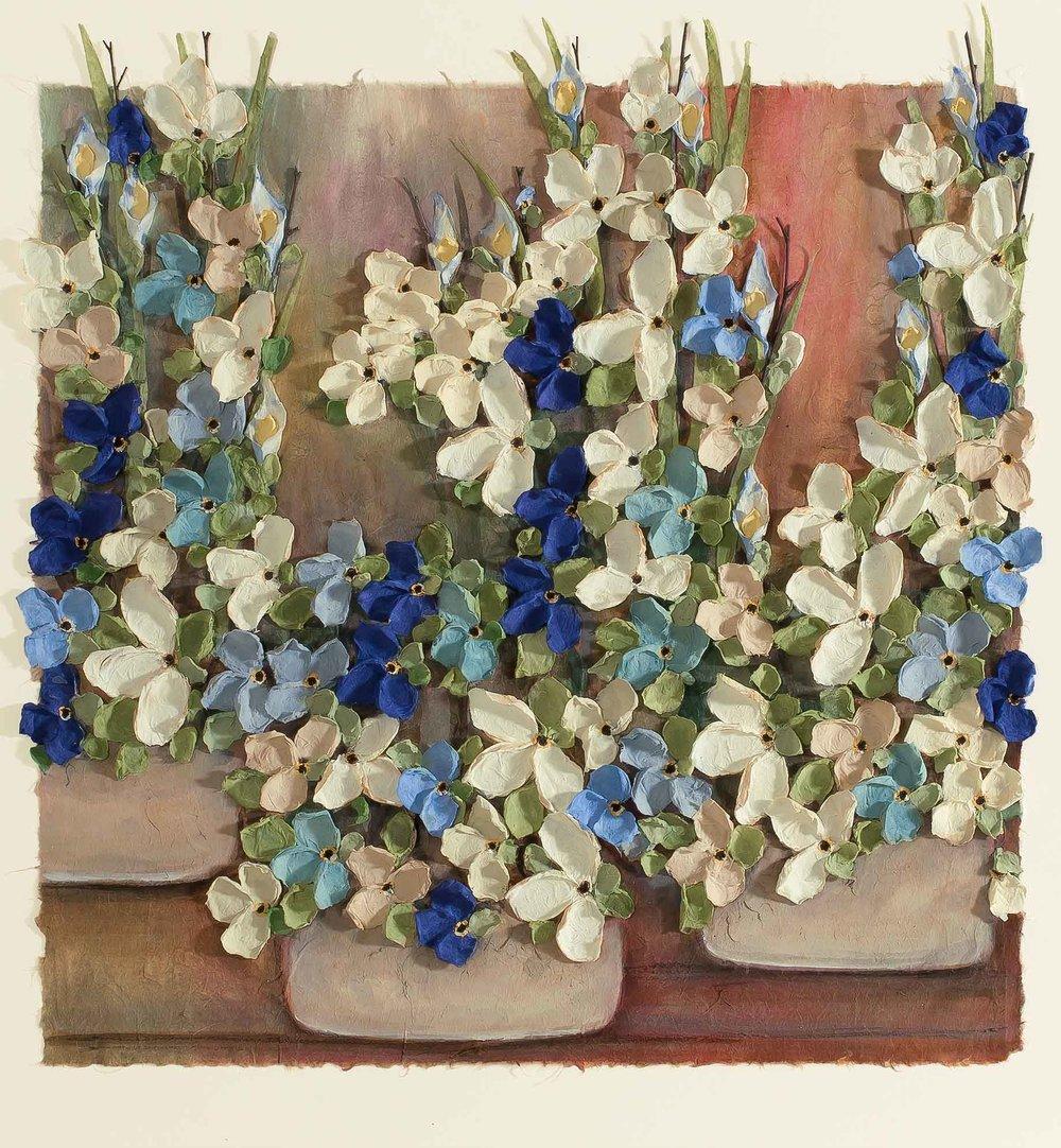 Copy of Mist Floral 16x16
