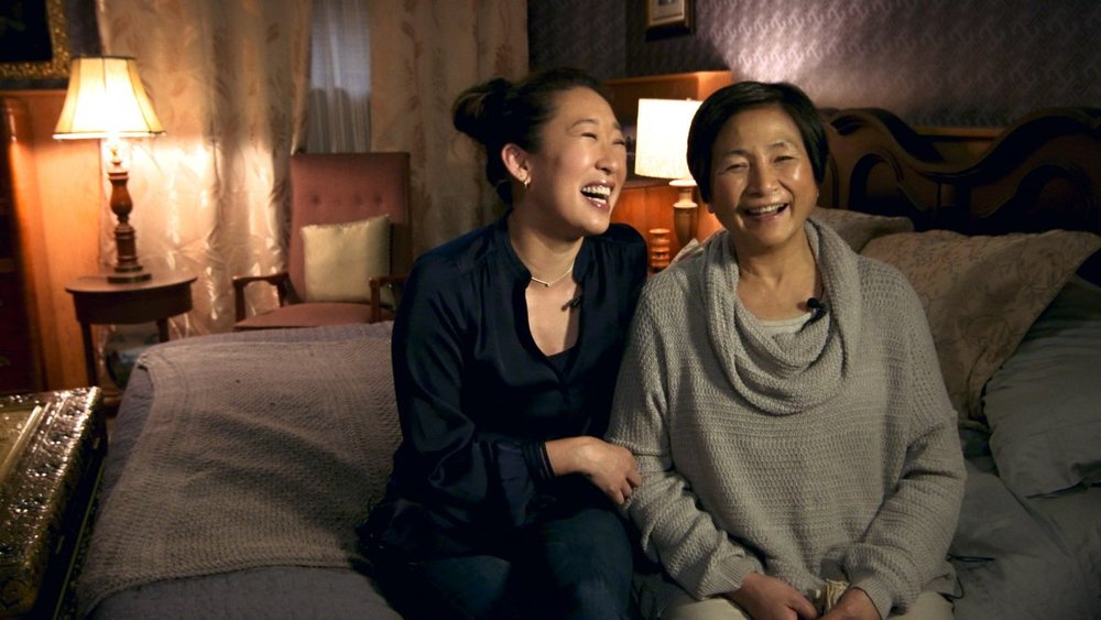 Sandra Oh and Pei-Pei Cheng in  Meditation Park .
