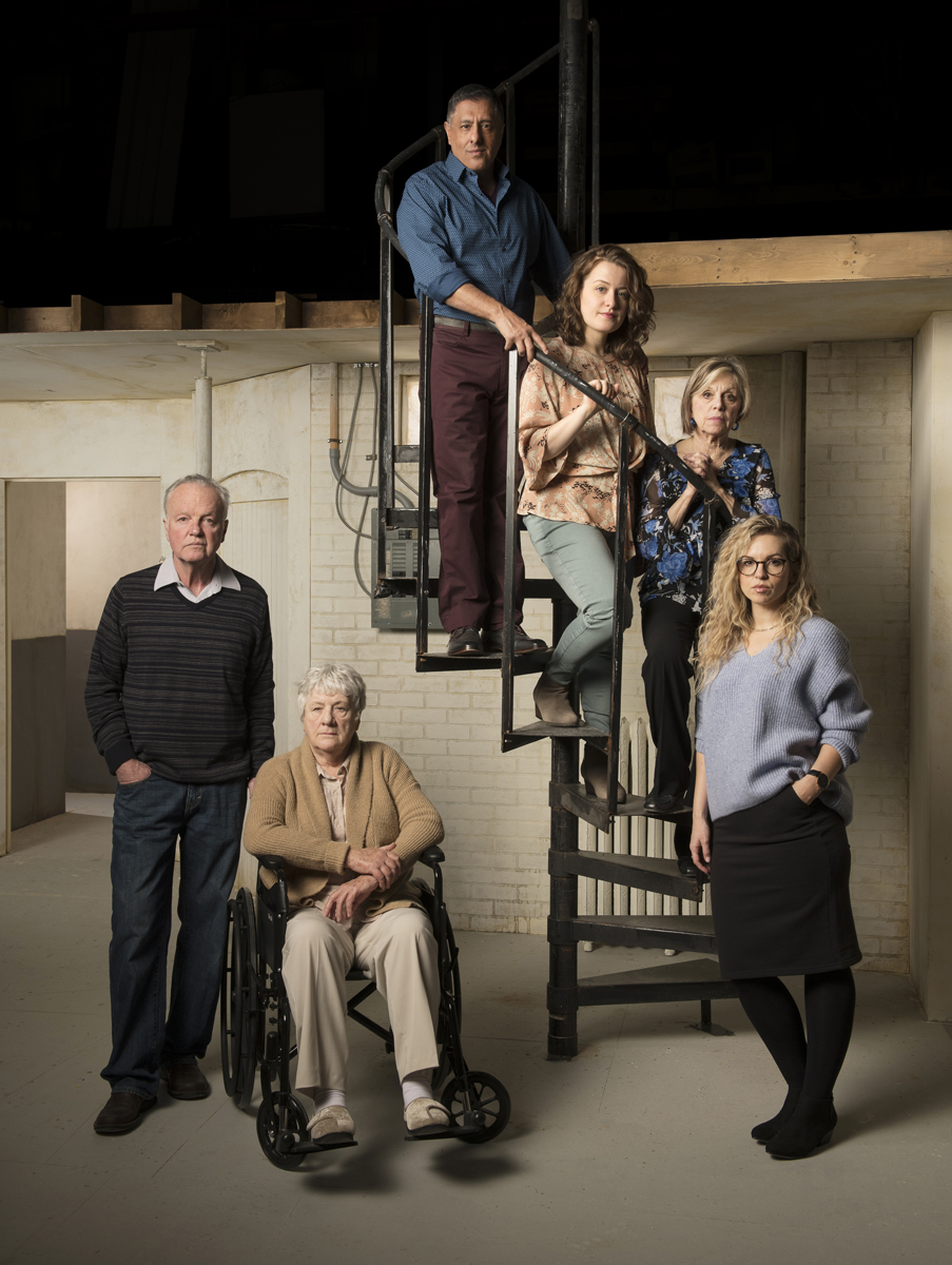 The cast of  The Humans . Photo by David Cooper