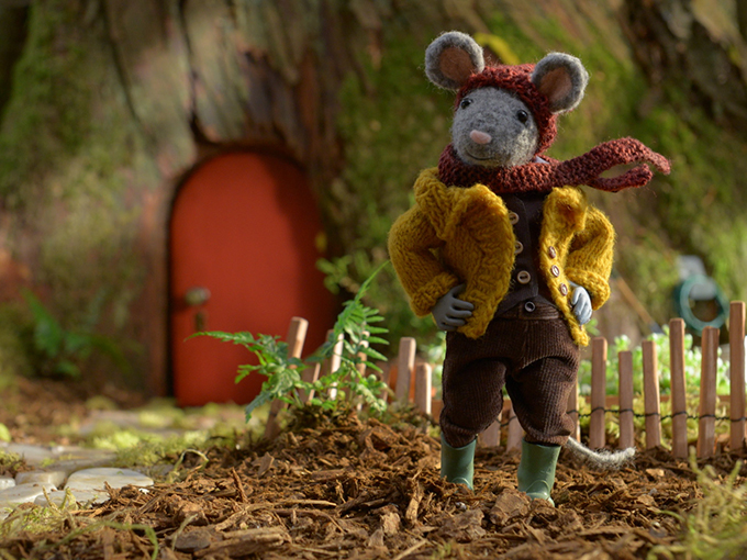 Still from  Scout and the Gumboot Kids .