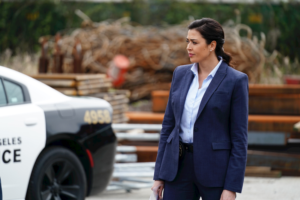 Aliyah O'Brien as Detective Christine Rollins on  Take Two . Contributed photo