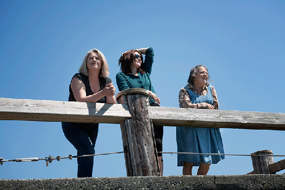 Beatrice Zeilinger, Lynda Boyd, and Nicola Cavendish. Contributed photo