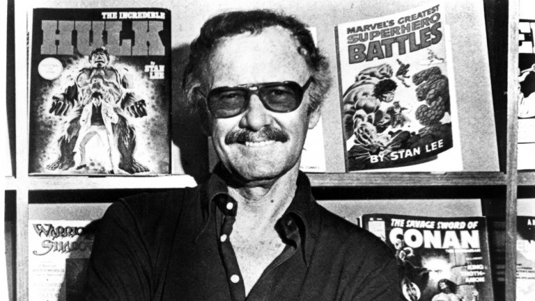 Stan Lee, pictured in 1988.