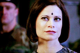 Jacqueline Samuda on  Stargate SG-1 . Contributed photo
