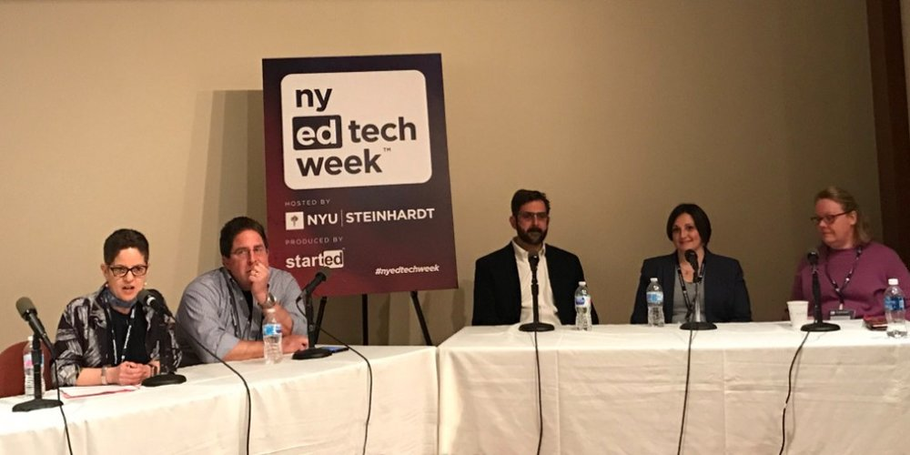 NY EdTech Week Panel