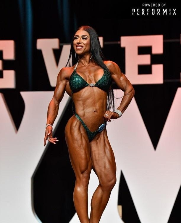 Sashli Sensation/IG: @sashlistar   Placed 2nd in Woman's Figure and 4th in Woman's Physique at Olympia Amateur October 2018
