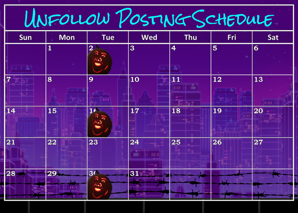 This is a calender of October 2018