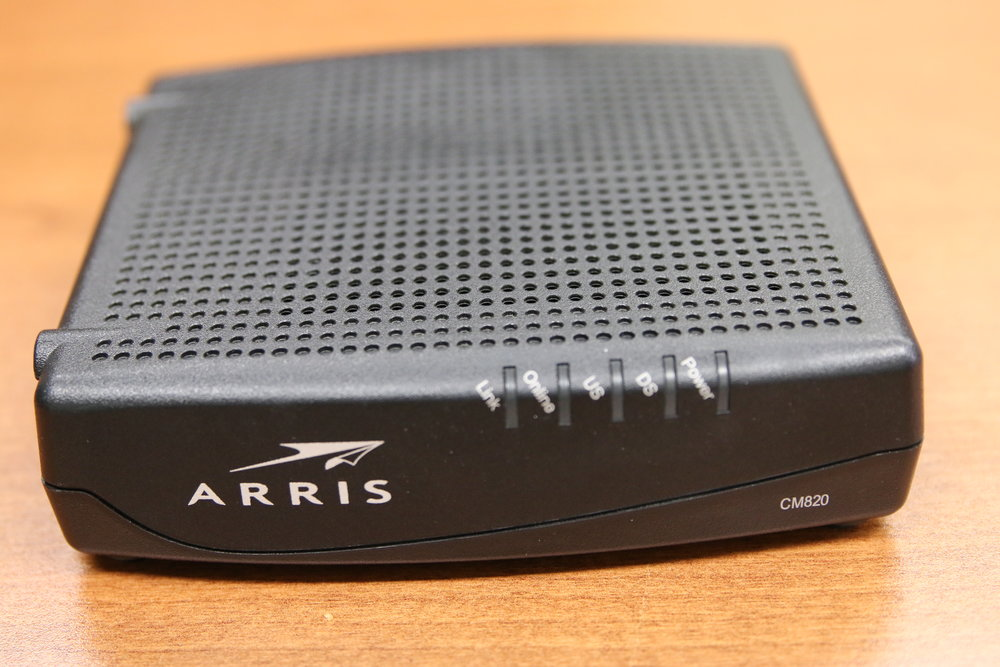 Cable Modem - front