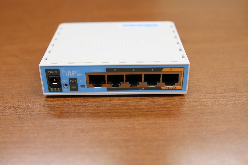 Managed WiFi Router (Walnut Area) - back