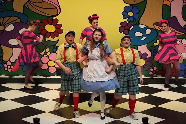 Tonight is Pay-What-You-Can Preview Night for Disney's Alice in Wonderland Jr.! The show starts at 7:00 p.m. with ticket sales starting at 6:00 p.m.  Can't make it tonight? Disney's Alice in Wonderland Jr. opening night is tomorrow! For tickets to opening night and other show times, call the box office at 304-645-3838 x1 or visit https://bit.ly/2HMzM38. #couriserandcouriser #gvt #gvtheatre #lewisburg #regionaltheatre #mtishows