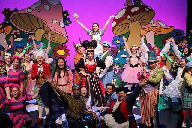 Tonight is opening night for Disney's Alice in Wonderland Jr.! For tickets to opening night and other show times, call the box office at 304-645-3838 x1 or visit https://bit.ly/2HMzM38.