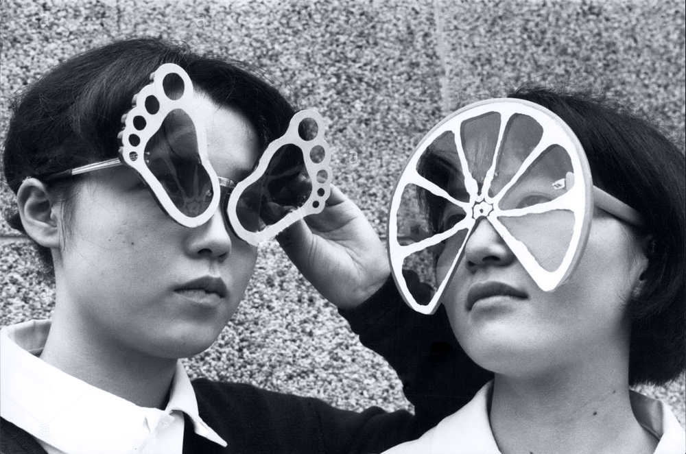 Crazy sunglasses, Japan, 1966