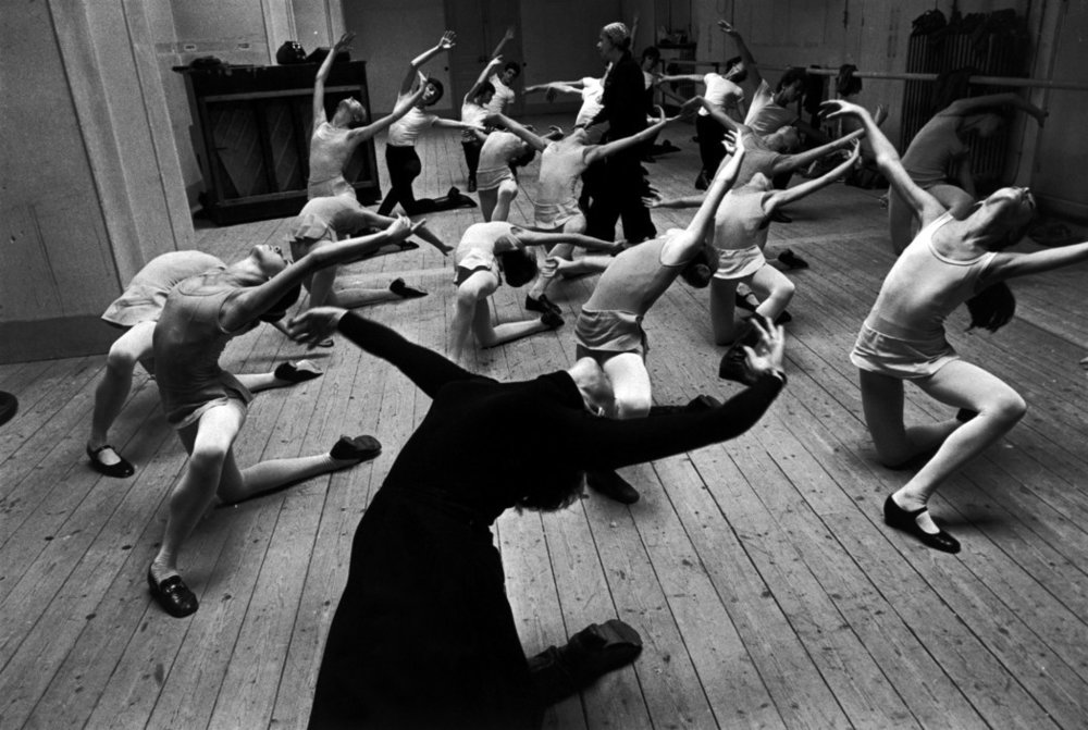 The Paris Opera Ballet School in 1976, by Guy Le Querrec.