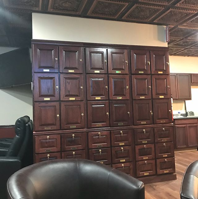 Fingers crossed we open tomorrow. Come down and get your locker now. Because it slo burn there is literally a locker with your name on it. #sloburncigarsandlounge #jeremyjackcigars #parkercolorado #rockypatelcigars #perdomocigars #myfatherscigars #cigarlife #sloburncigars #swartzenegger #michaeljordan