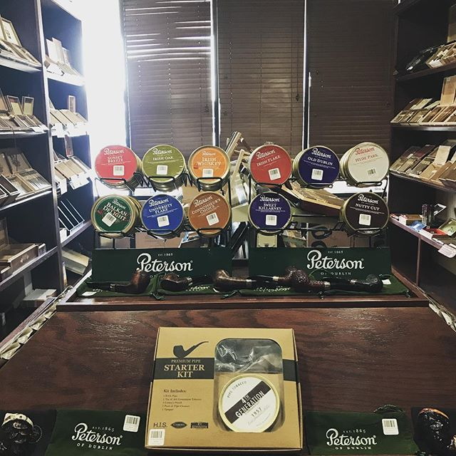 New selection of pipes and pipe tobacco, come and get yours now! @sloburncigars #pipe #pipetobacco #pipesmoking #sloburn #sloburncigarsandlounge #sloburncigars