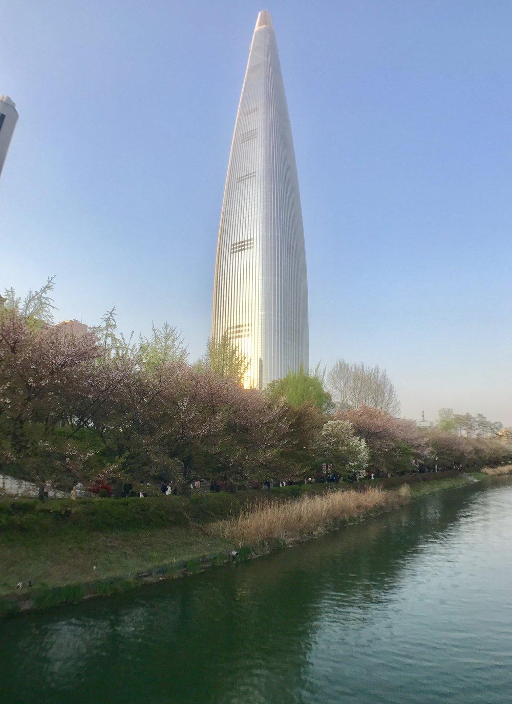 Tallest building in Korea