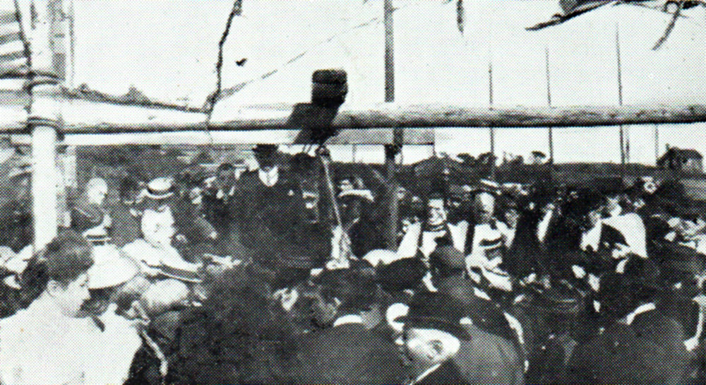 Laying the Foundation Stone 1908
