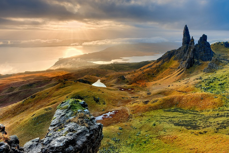 The Old Man of Storr is one of the most iconic locations on the Isle of Skye, but make sure to take the time to explore some of the lesser visited areas too.