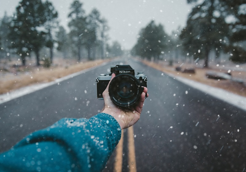 Keeping your camera gear protected is very important in wintry conditions - Here's how  not  to do it.