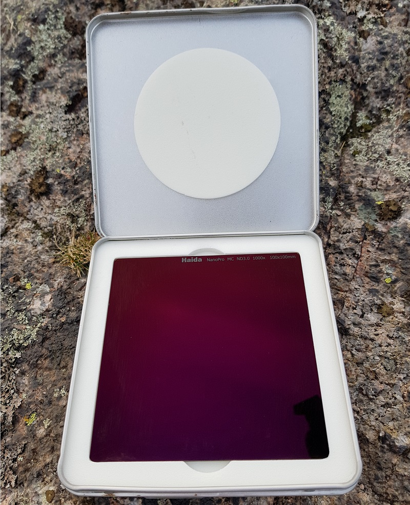 Haida neutral density filter reviews