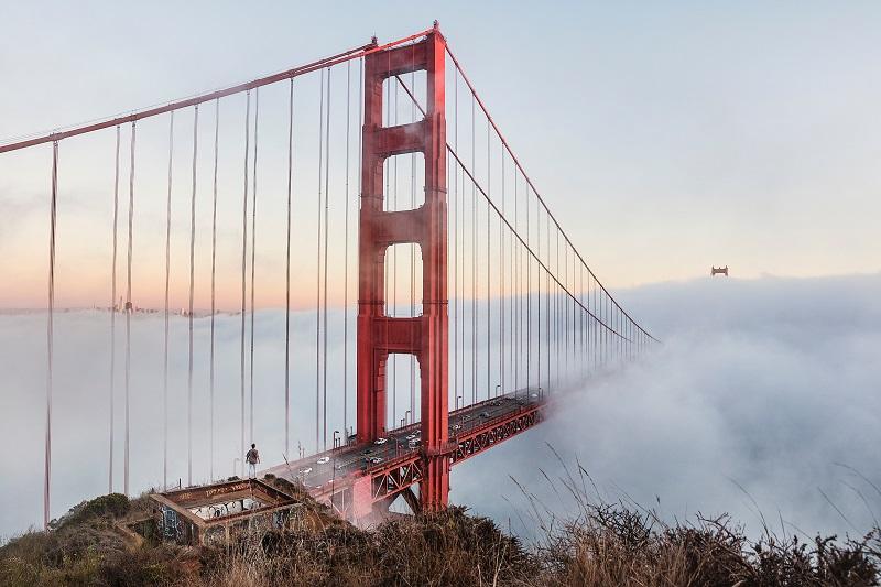 cloud inversion landscape photography