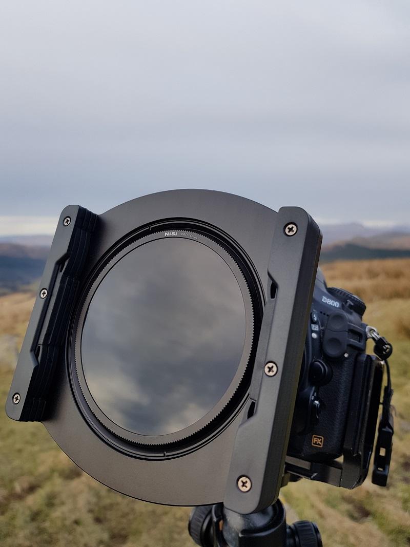 NiSi V5 Pro filter system
