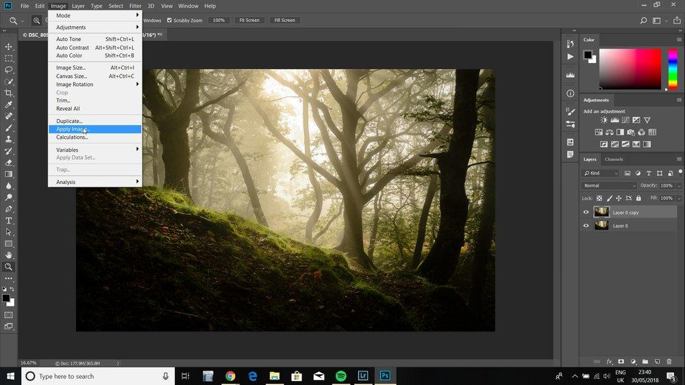 orton effect landscape photography