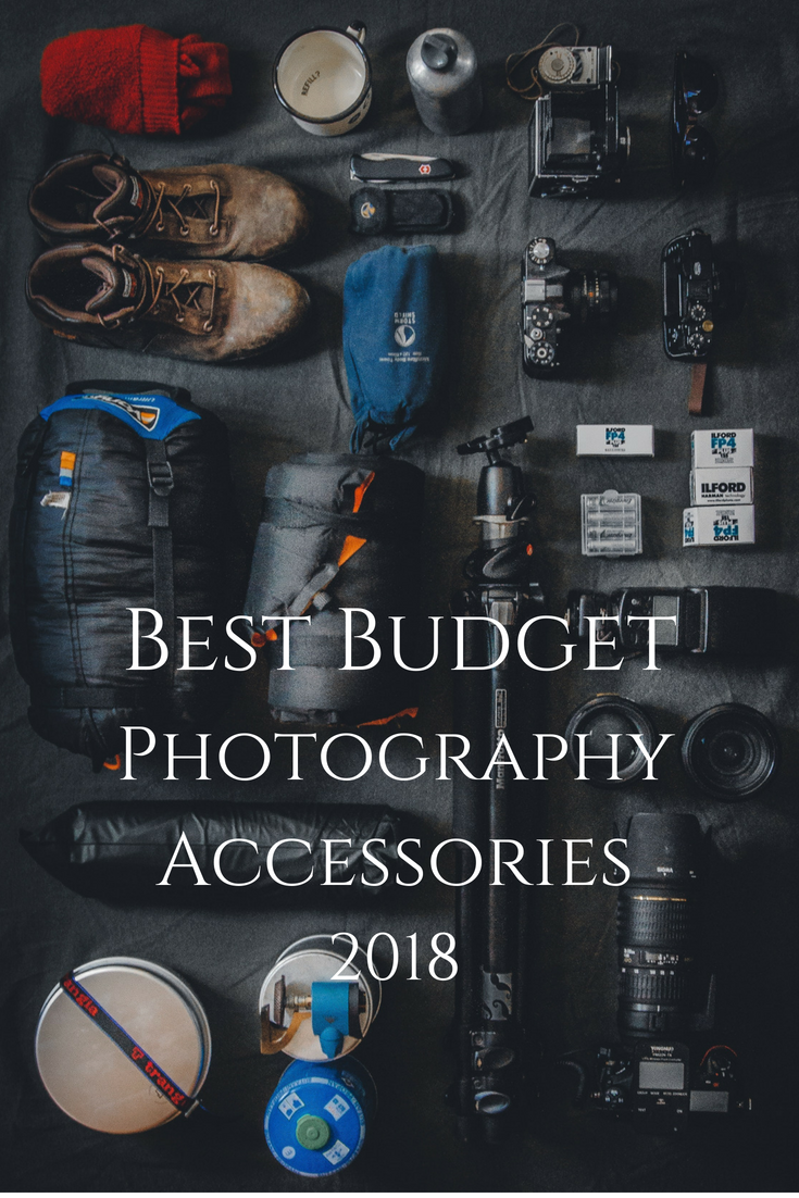 best budget photography accessories 2018